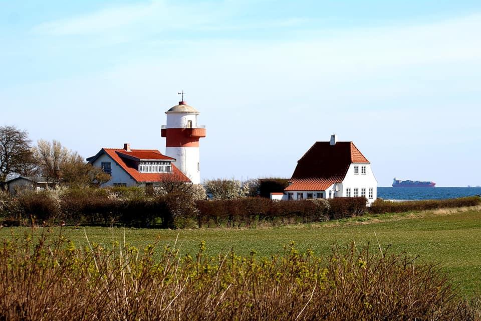 fyrtårn langeland lighthouse