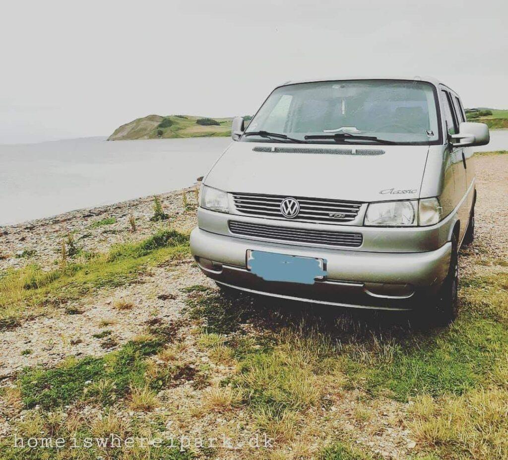 vanlife pintrip Mors autocamper camping parkering