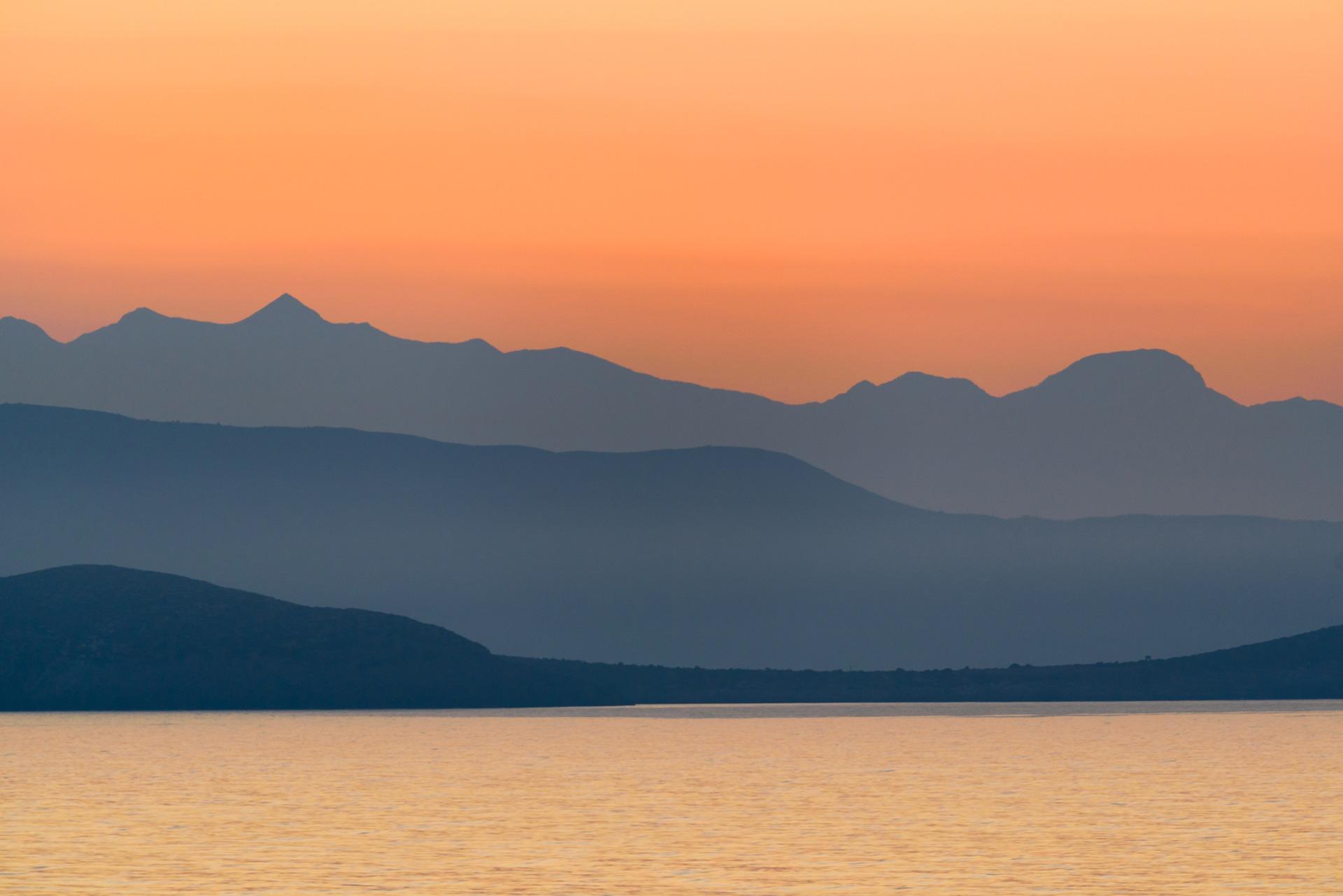 Grækenland bjerge