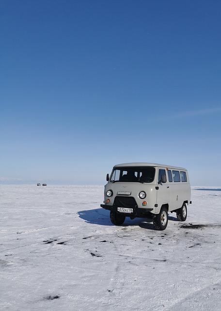 vanlife autocamper vinter roadtrip